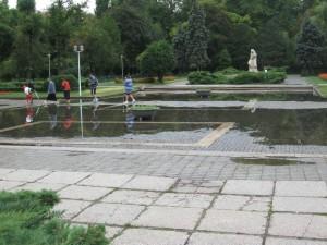 Prin Bucuresti: parcul Carol