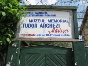 """Casa memoriala Tudor Arghezi """"Martisor"""""""