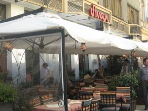 Restaurantul Divan din Centrul Vechi