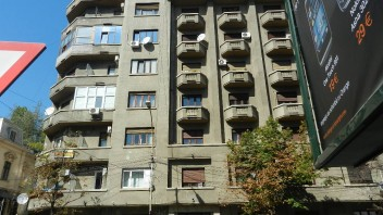 Apartamentul in care a trait Ion Marin Sadoveanu