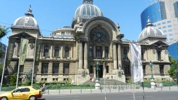 Palatul C.E.C. de pe Calea Victoriei