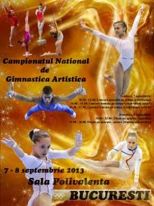 Haideți în week-end la Campionatele Naționale de Gimnastică