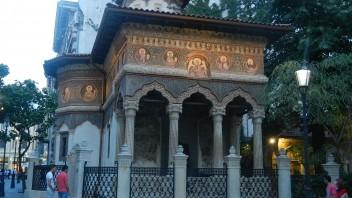 Biserica Stavropoleos din Centrul Vechi – vara 2014 în imagini