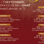 Evenimente București 5-7 septembrie