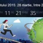 Ora Pământului de pe 28 martie: ce se întâmplă în București