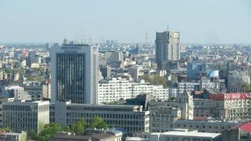 Bucureștiul văzut de pe Crystal Tower
