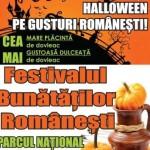 Evenimente București pentru perioada 30 octombrie – 1 noiembrie