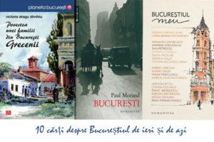 10 cărți despre București pe care să le cumperi la reducere de Black Friday