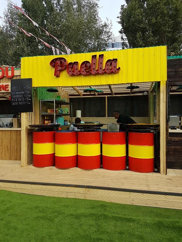 Wahaka Street Food Park Paella