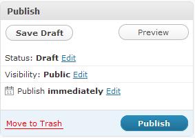 Cum programezi un post in Wordpress